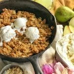 Pear Cobbler in your Cast Iron Skillet