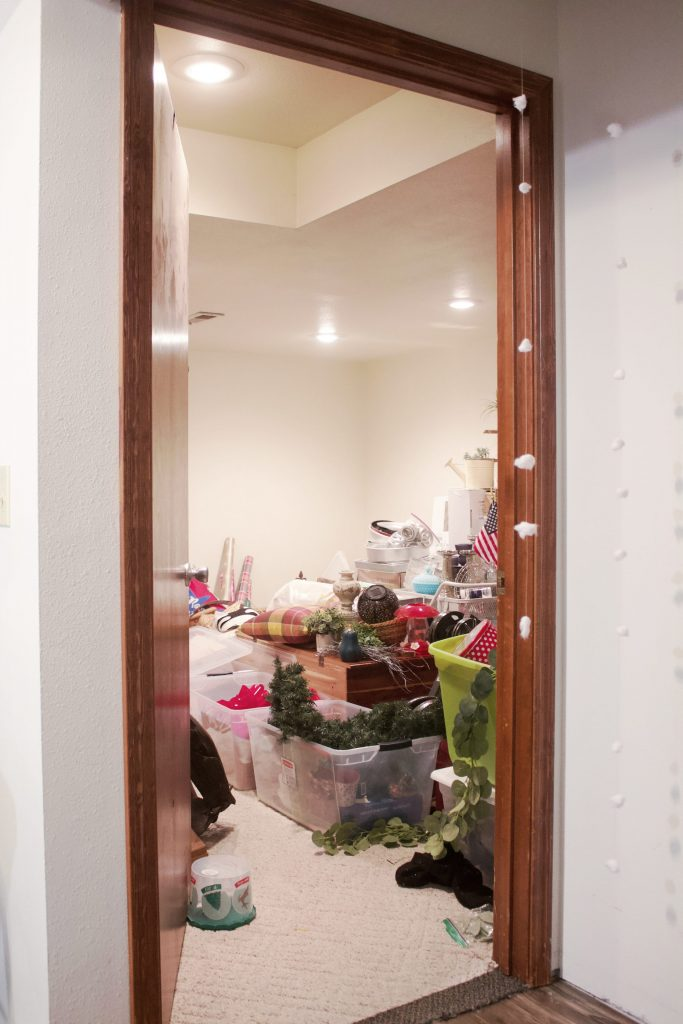 This storage room transformation is HUGE, and gives usable tips for you to refresh your space and make it organized and usable.