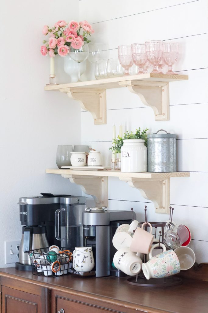 Coffee Bar Refresh | The Perfect Set-Up For Our Morning Brew