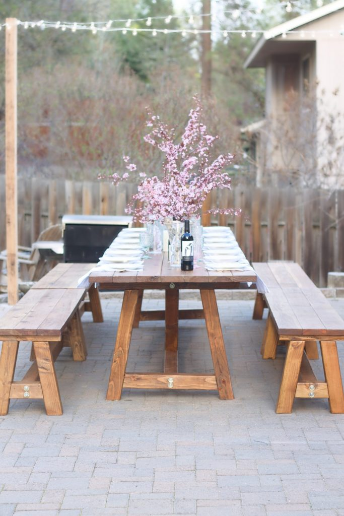 A Dreamy Outdoor Wooden Table And My Plans For It