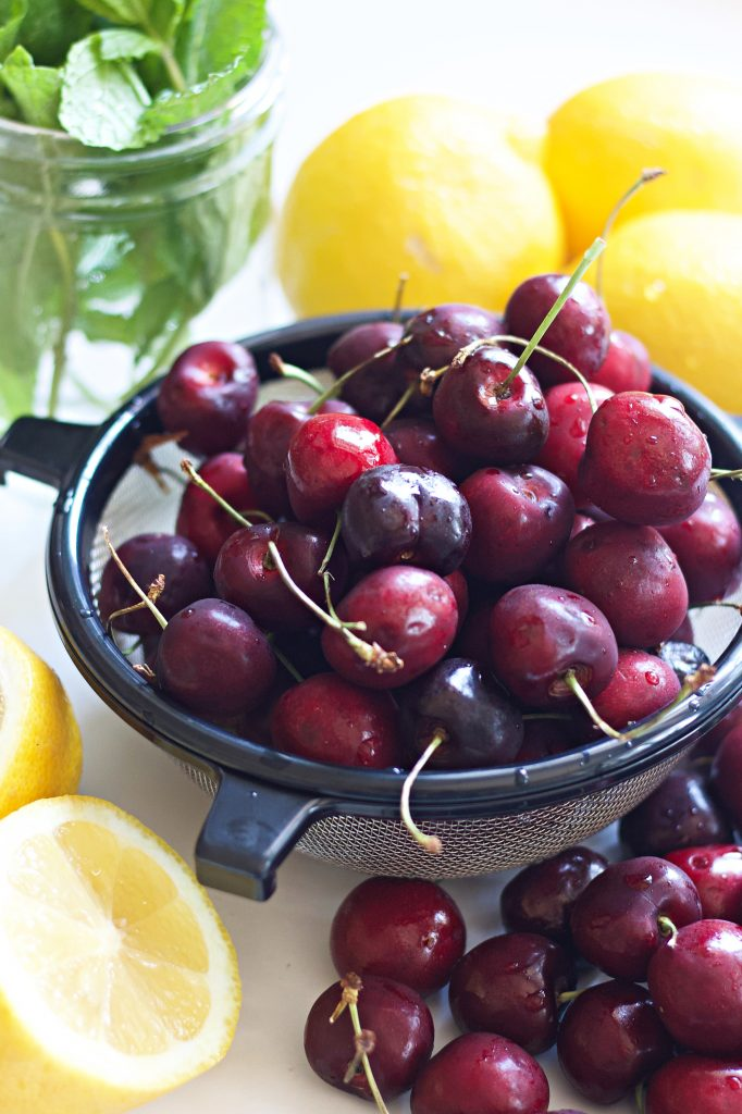 Use fresh cherries to make this delicious cherry sauce. It's a perfect topping for ice cream & other desserts. It adds a special yummy touch!