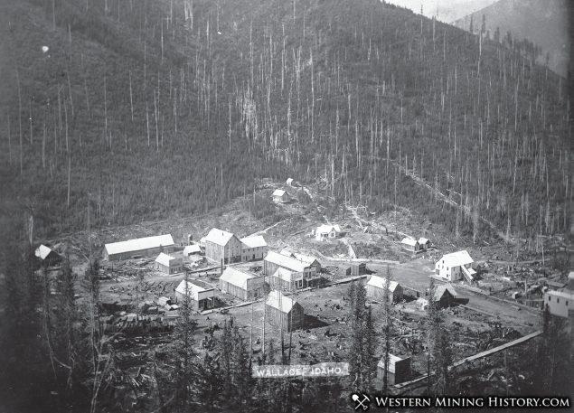 Wallace Idaho 1910 Western Mining History