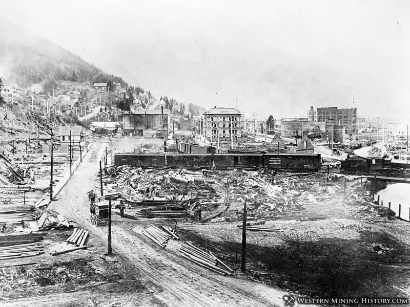 Wallace Idaho 1910 Big Burn